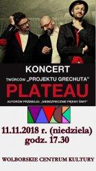 Zespół Plateau wystąpi w Wolborzu