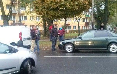 Wypadek na ul. Kostromskiej. 41-latek w szpitalu