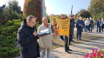 Męski Publiczny Różaniec znów w Piotrkowie
