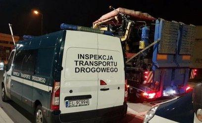 Ciężarówka za ciężka o 10 ton. Przewoźnik zapłaci 25 tys. kary