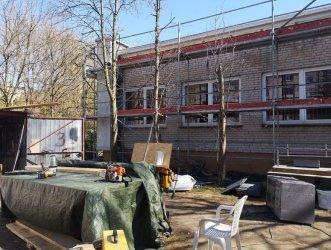 Remont budynku przychodni w Al. Armii Krajowej w Piotrkowie