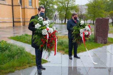 Władze województwa łódzkiego także uczciły Święto Konstytucji