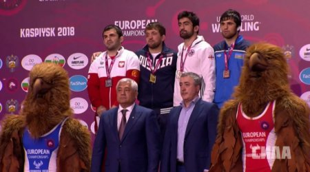 Murad Gadżijew wicemistrzem Europy