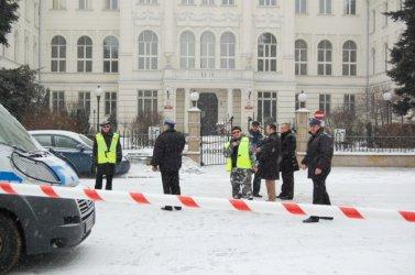 Piotrków: Alarm bombowy w sąsiedztwie sądu