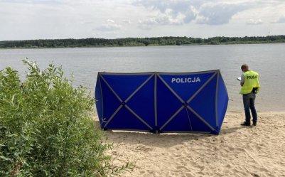 Mężczyzna utonął w Zalewie Cieszanowickim