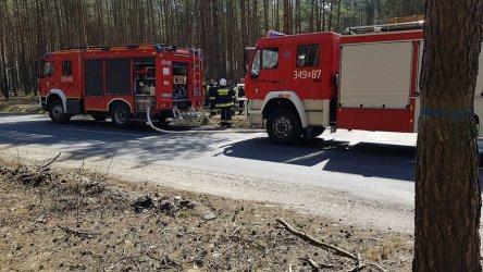 Niebezpieczne pożary w regionie