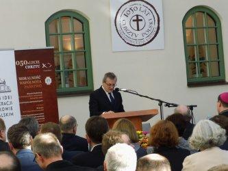 Wicepremier Gliński w Piotrkowie