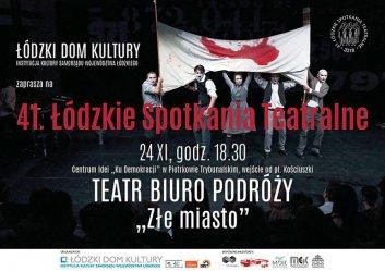 Łódzkie Spotkania Teatralne znów w Piotrkowie