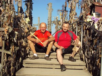Jeździli po Litwie i Łotwie