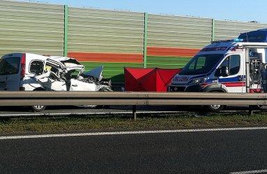 4 osoby ranne w wypadku na S8 pod Piotrkowem