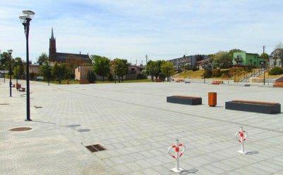 Zmiany w ruchu na Placu Straży w Sulejowie