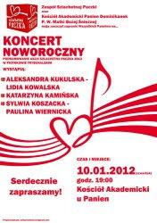 Koncert Noworoczny - Szlachetna Paczka 2012