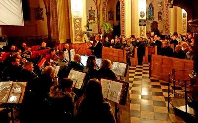 Koncert w kościele w Milejowie