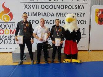 Dwa medale kadetów AKS podczas OOM