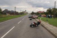 Region: Kierowca wjechał w motorower