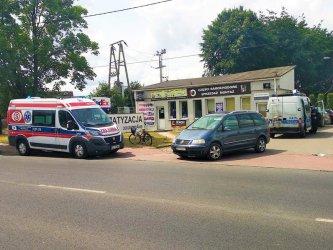 Rowerzystka i piesza poszkodowani w wypadkach