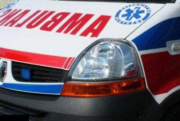 Wypadek na Kostromskiej. 3-miesięczne dziecko w szpitalu