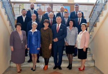 Nowo wybrani radni spotkali się na pierwszym, inauguracyjnym posiedzeniu Rady Miejskiej
