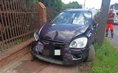 Trzy samochody zderzyły się w Sulejowie