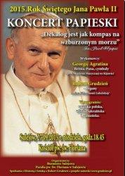 Koncert papieski w Sulejowie