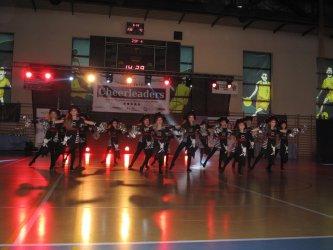 Cheerleaderki z całej Polski zmierzyły się w Piotrkowie