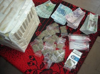Piotrkowska policja złapała dilera narkotykowego