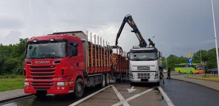 ITD znów zatrzymała przeładowane ciężarówki