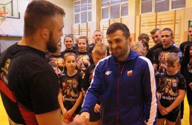 AKS przywitał mistrza Europy