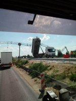 Utrudnienia na A1. Droga była zablokowana