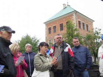 Turyści z całego kraju zwiedzają Piotrków