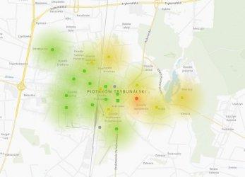 Zamontowano 20 czujników jakości powietrza w Piotrkowie