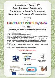 Europejski Dzień Sąsiada