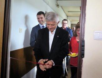Marek Belka otworzył swoje biuro poselskie w Piotrkowie