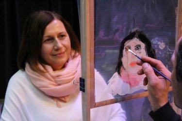 Wola Krzysztoporska: Pozwolili się namalować