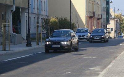 Pierwsze samochody przejechały ul. Sienkiewicza