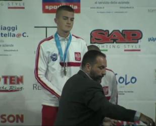 Piotrkowski kickboxer brązowym medalistą mistrzostw świata