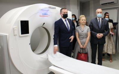 Piotrkowski szpital wzbogacił się o nowy tomograf