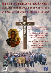 Męski Różaniec ponownie w Piotrkowie
