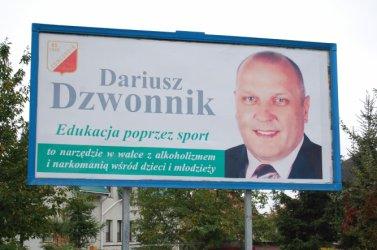 Piotrków: Krzyk Dzwonnika poprzez billboardy