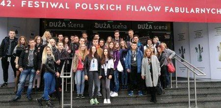 Uczniowie ZSP 2 na Festiwalu Filmowym  w Gdyni