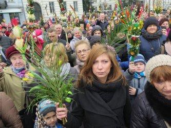 Palmowa Niedziela w Piotrkowie