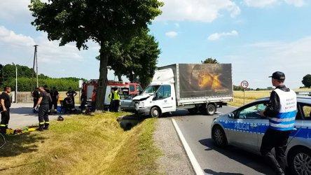 Kierowca wymusił pierwszeństwo. Zginęła jedna osoba
