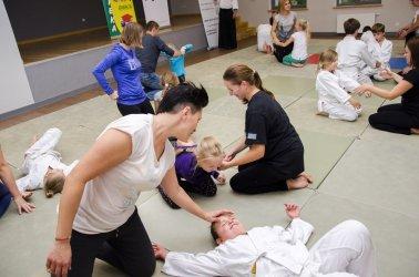Japońskie inspiracje, czyli rodzinne warsztaty aikido w Gorzkowicach