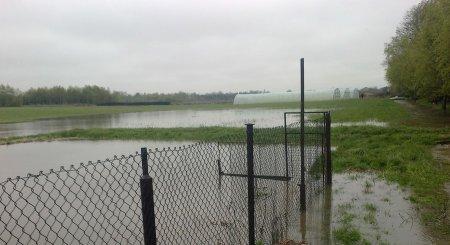 Powódź także w Piotrkowie. Wylała Strawa