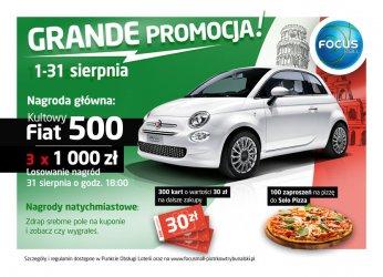 Wybierz się na zakupy do Focus Mall i wygraj stylowego Fiata 500!