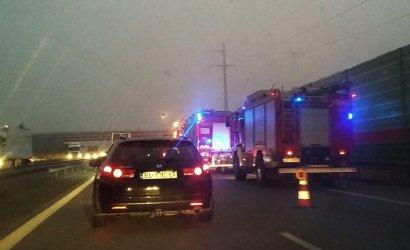 Wypadek na S8, ranna jedna osoba