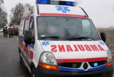 21-latek jechał za szybko – trafił do szpitala