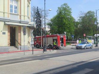 Bomba na poczcie przy Słowackiego?