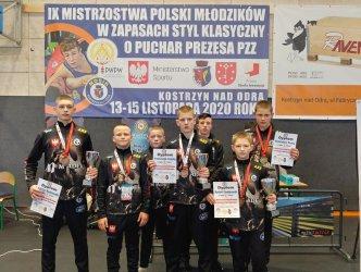 Cztery medale AKS w Mistrzostwach Polski