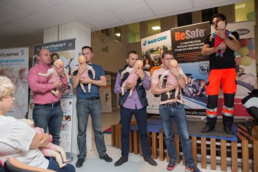 Warsztaty z udzielania pierwszej pomocy niemowlęciu